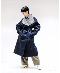 FFIXXED STUDIOS / DOUBLE TRENCH WOMENS