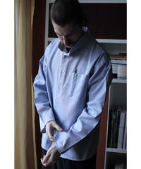 A STATE OF NATURE / ANIELA SHIRT -OXFORD CLOTH IN LIGHT BLUE-
