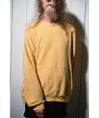 YOKO SAKAMOTO / BIG SWEAT (MATERIAL 04) -YELLOW-