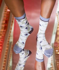 HENRIK VIBSKOV / STRAWBERRY SOCKS FEMME-MINT STRAWBERRIES-