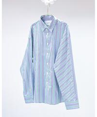 dessin de mode / Stripe Shirt(green)