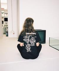 "PUBLIC POSSESSION / ""Ragazzi Group"" T-Shirt / Earthly Black"