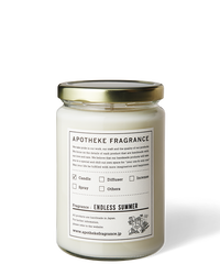 APOTHEKE FRAGRANCE / GLASS JAR CANDLE -ENDLESS SUMMUR-