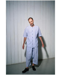 YOKO SAKAMOTO / WORK BAGGY PANTS -STRIPE-