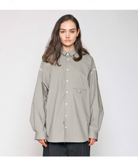 VOAAOV / SOFT SEAMER BIG SHIRT -GLAY-