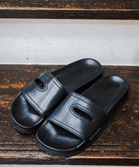 REPRODUCTION OF FOUND/1738L(GERMAN MILITARY SANDAL) -BLACK-