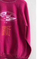 VINTAGE RAGLAN SWEAT SHIRTS                      Baby Pink