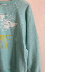 VINTAGE RAGLAN SWEAT SHIRTS  Sea form