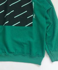 Vintage raglan sweat shirts Kelly green