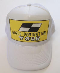 "TRUCKER mesh CAP  ""WD TOUR""  (White)"