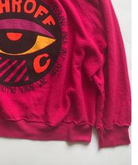 Vintage raglan sweat shirts  Fuschia