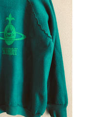 Vintage raglan sweat shirts    lt green