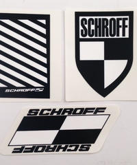 SCHROFF DECALS  (1 SET/3枚入り)