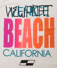 """VENICE BEACH""  Tank Top-Shirts  (White)"