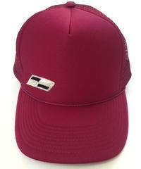 """TRUCKER mesh CAP  """"Classic Patch""""  (Burgundy)"""