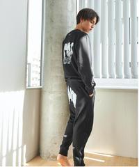 SSN Sweat pants(Black)