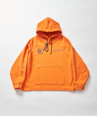 【2021.2.23(tue)21:00-PRE‐ORDER】BEAUTIFUL MIND PARKA(Orange)