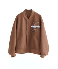 【STOCK】BIG LOGO STADIUM JUMPER(Brown)