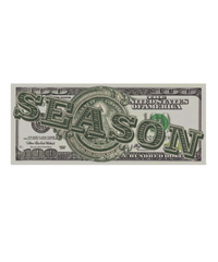 【入荷】$EA$ON Counterfeit bill-Sticker