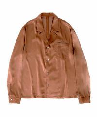 【入荷】SET UP Open collar SH(Brown)