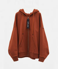 DREAMS COME TRUE BIG ZIP PARKA(Bworn)