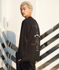 【2021.3.3(wed)21:00-PRE-ORDER】SEASON BPM-graphic Long-T(Black)