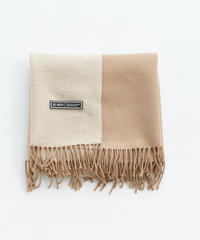 【STOCK】Bi-color Stole(Brown)
