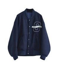 【10.30(fri)21:00-PRE ORDER】BIG LOGO STADIUM JUMPER(Navy)
