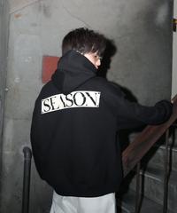 【入荷】SEASON Back Print Parka(Black)