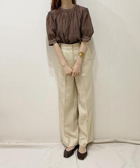 center press wide pants