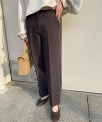center press pants/dark brown