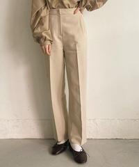 〈予約/3月中旬〉center press pants