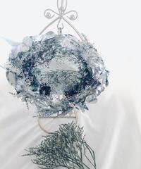 雪の国の女王の魔法の鏡/プリザーブドフラワー/Flower mirro