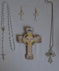 saint pigeon itallian wall cross
