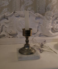 mable statue candlestand