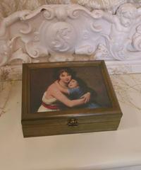 VTG rococo picture accessory box
