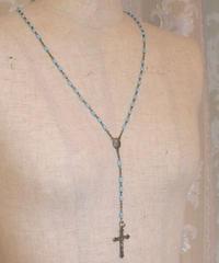 VTG blue rosary