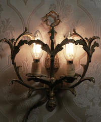 antique wall decorated lamp