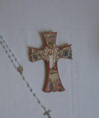 saint jesus italian wall cross