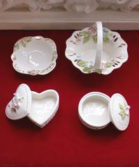 porcelain mini jewelry box