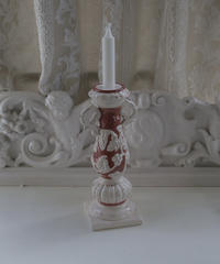 VTG porcelain candle stand