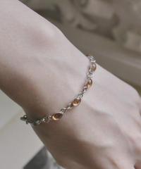 VTG dry flower silver bracelets