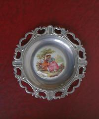 vintage metal lady trayⅡ