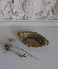brass heart motive accessory  tray