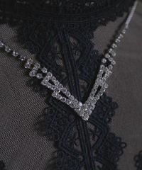 crystal bijou necklace Ⅵ