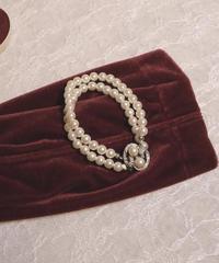 VTG pearl motif bracelet A