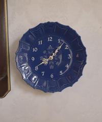 """JUNGHANS"" porcelain wall o'clock"