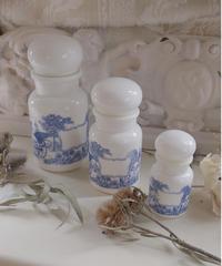 BELGIUM ATQ milkglass pot