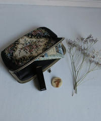 VTG  german flower pouch