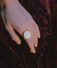 vintage feve ring moonface
